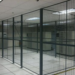Privage cage space in a data center.